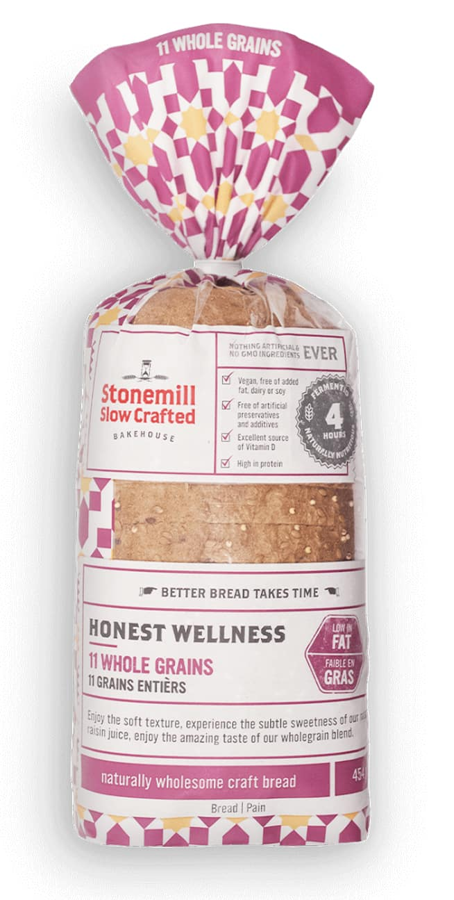 Stonemill Bakehouse 11 Whole Grains bread