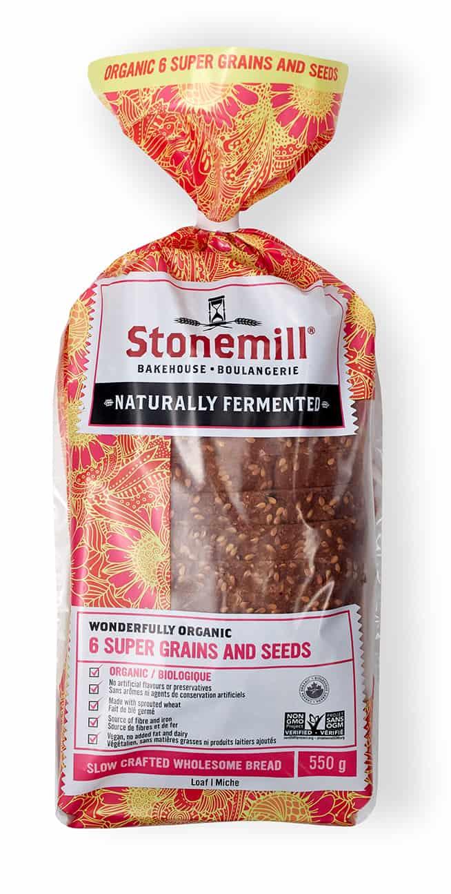 Stonemills Bakehouse 6 Super Grains & Seeds Bread