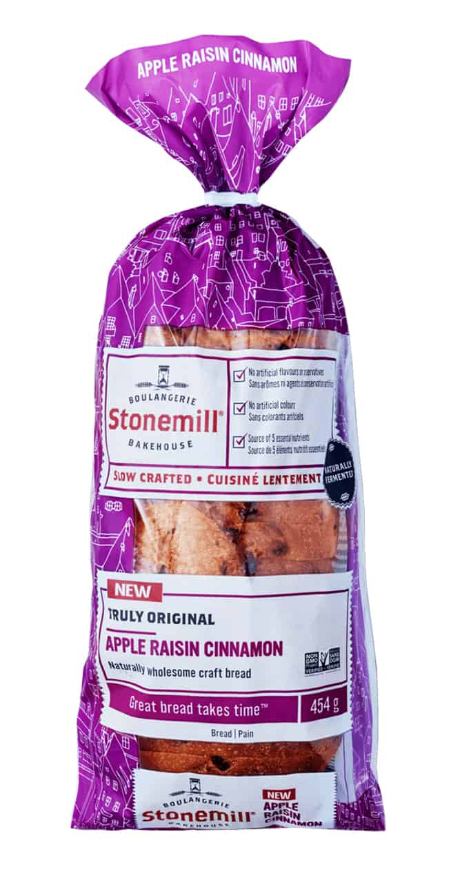 Stonemill Bakehouse Apple Raisin Cinnamon bread