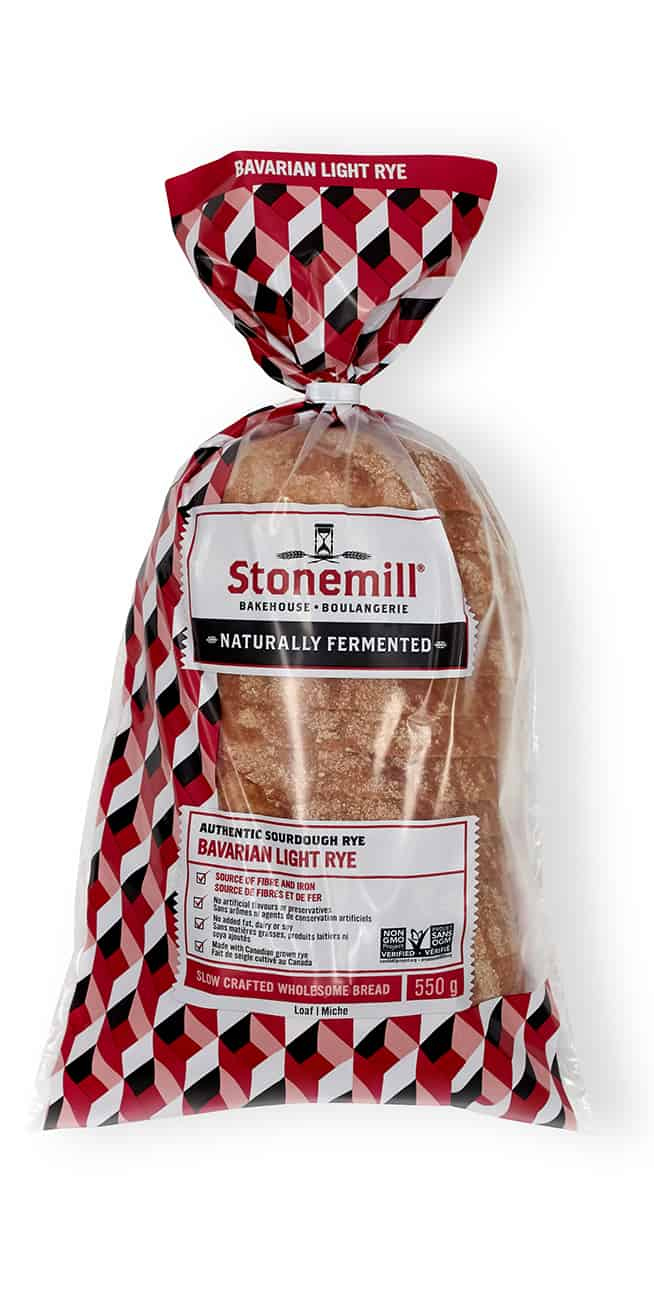 Stonemill Bakehouse Bavarian Light Rye bread