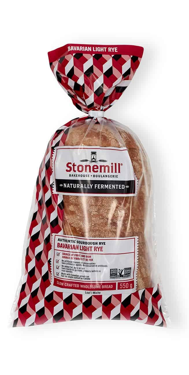 Stonemill Bakehouse Bavarian Light Rye bread
