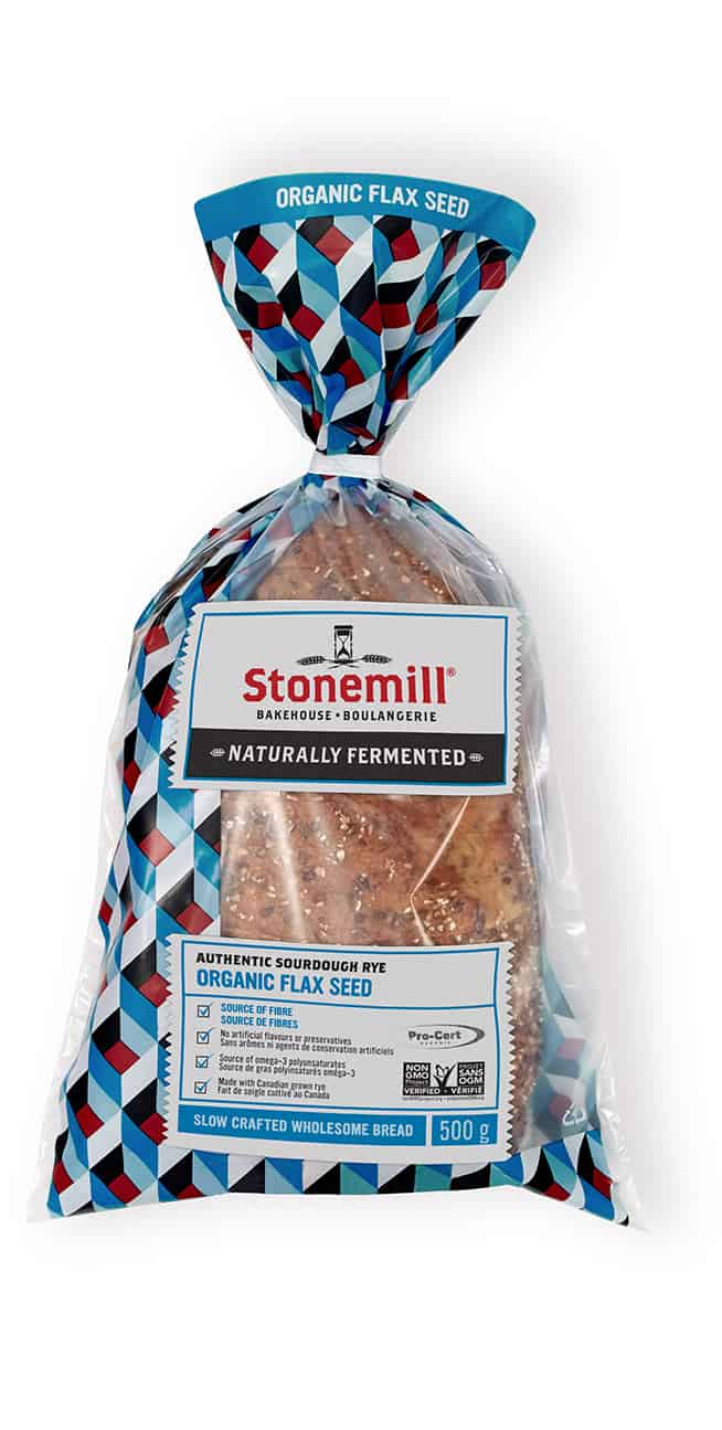 Stonemill Bakehouse Organic Flax Seed Rye bread