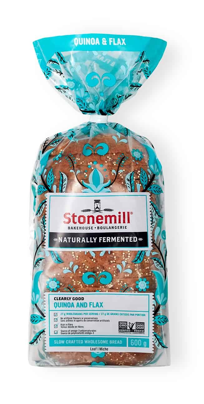 Stonemill Bakehouse Quinoa and Flax bread