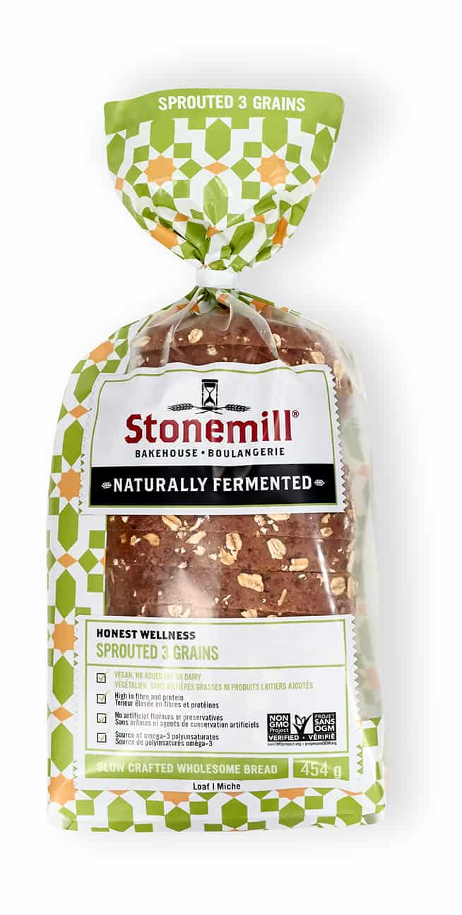 Stonemill Bakehouse Sprouted 3 Grains bread