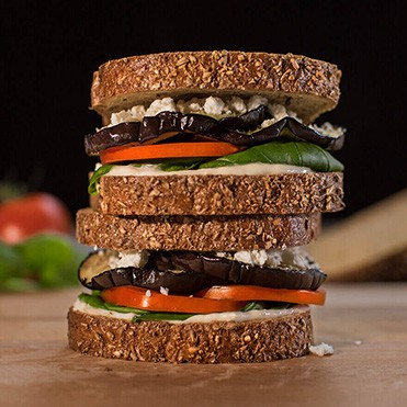 Stonemill Bakehouse Sprouted Rye Veggie Sandwich