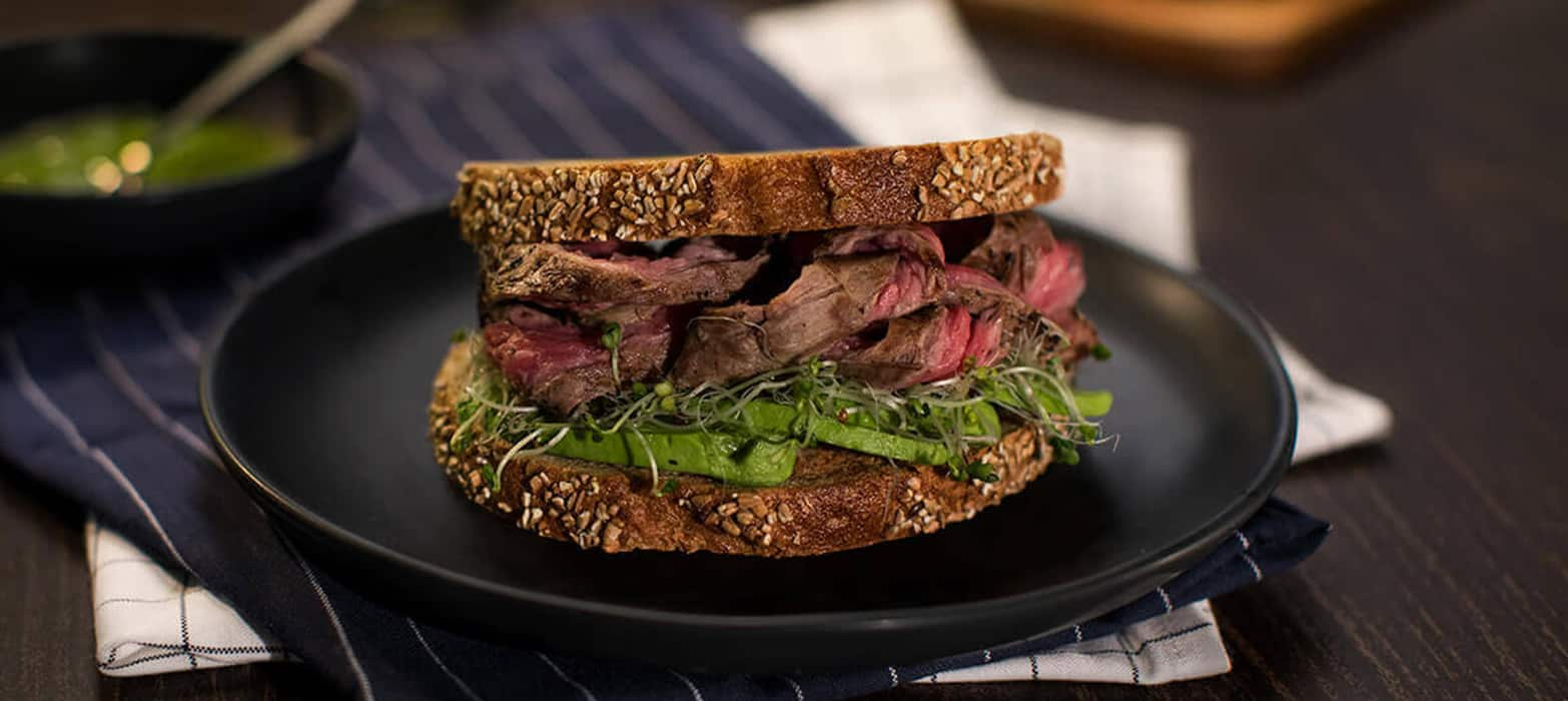 Stonemill Bakehouse Sourdough Steak Sandwich