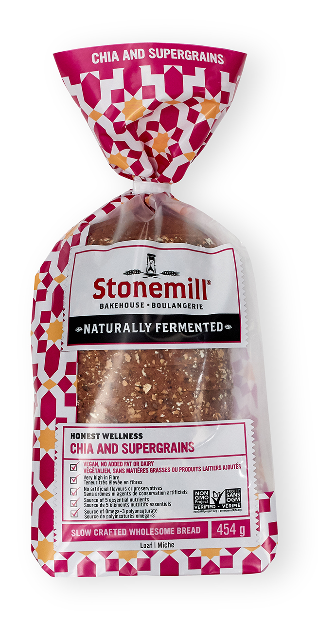 Stonemill Bakehouse Chia and Supergrains bread