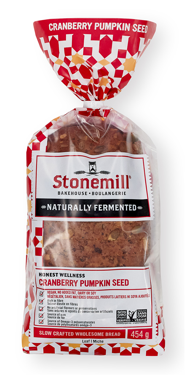 Stonemill Bakehouse Cranberry Pumpkin Seed bread