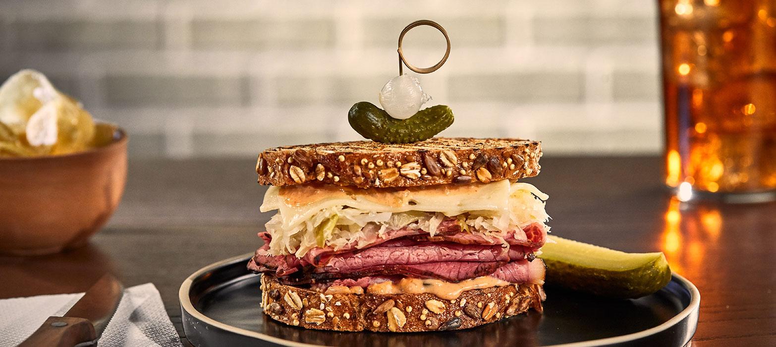 Stonemill Bakehouse Reuben-ish Sandwich